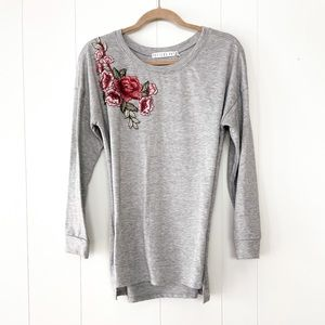 Potters Pot Heathered Grey Tee